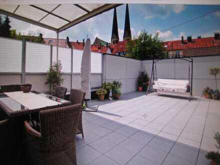 Ringeltaube , Oase ! Urbanes großzügiges EFH Haus Bielefeld Altstadt Neustädter Wohnung Dachgarten