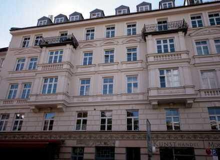 Dachgeschoß-Terrassenwohnung - Neubau im klassischem Altbau, Bestlage mitten im Museumsviertel
