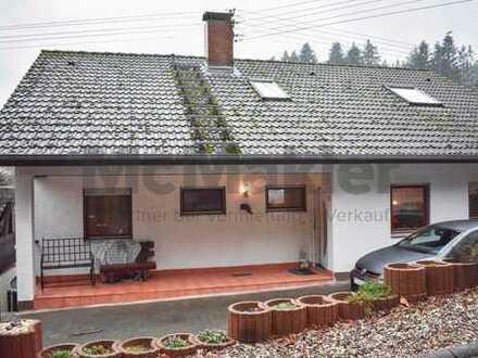 Mehrgenerationenhaus mit riesigem Garten, Terrasse, Südbalkon, Kamin - inkl. möbl. Einliegerwohnung