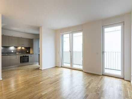 Sonnige 3-Zimmerwohnung I Bodenheizung | Einbauküche | Balkon I HWR