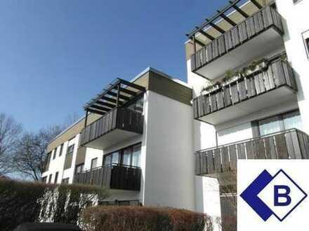 Stockdorf - Chice 4,5-Zi.-Whg. m. S-W-Balkon, m. Gartennutzung a.d. Würm, abs. ruhig, frei!