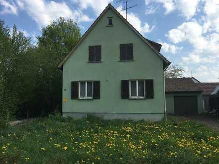 IDEAL FÜR HANDWERKER - Einfamilienhaus mit Garage und Nebengebäude - 292-20