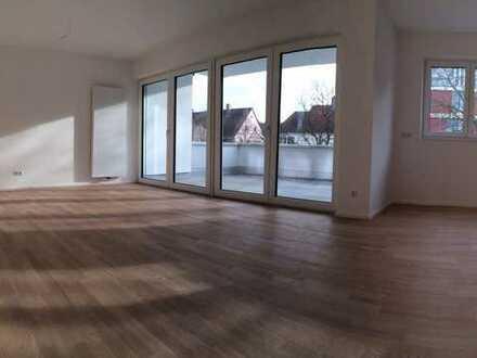 Hochwertige 2-Zi.-Whg. mit großem Balkon im Herzen von Laupheim - Neubau 2013 *PROVISIONSFREI*