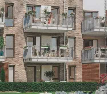 Erstbezug mit Einbauküche und Balkon: freundliche 3-Zimmer-Wohnung in Bramfeld, Hamburg
