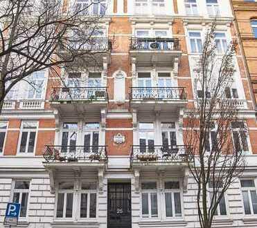 Exklusive 2,5-Zimmer-Penthouse Wohnung über 2 Ebenen mit Fahrstuhl und Alsternähe in St. Georgs Best