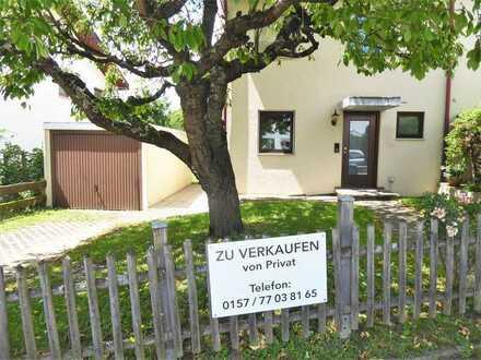 Gepflegtes, lichtdurchflutetes 5-Zimmer-Reihenendhaus zum Kauf in Walddorfhäslach