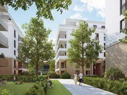 Idyllisches Wohnen in Niederrad! Moderne 3-Zimmer-Wohnung mit großem Balkon und zwei Bädern