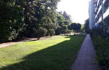 Mit Blick in die Dresdner Heide