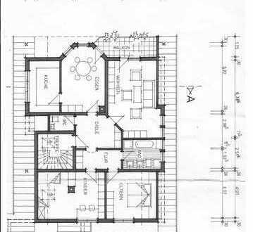 Schöne 4-Zimmer-DG-Wohnung mit Balkon in Stockach
