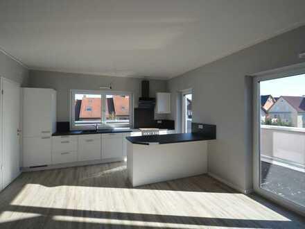 Oben ist es halt doch schöner - Penthouse Wohnung NEUBAU ab 01.06.2020 - 2,5 Zimmer, zentrale Lage