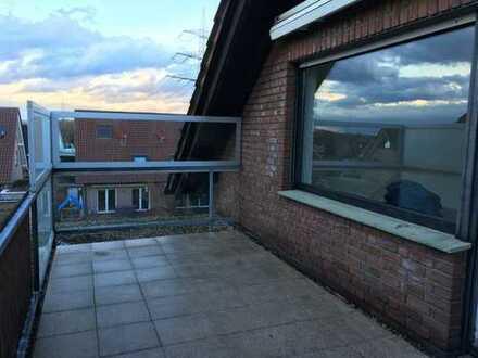 Ansprechende 3,5-Zimmer-Dachgeschosswohnung mit Balkon in Dorsten Östrich
