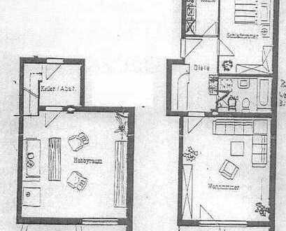2-Zimmer-Eigentumswohnung mit 33 m² bewohnbaren Hobbyraum