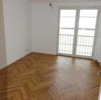 MA-Lindenhof: Townhouse frisch saniert: gut geschnittene, helle 3 Zi/Kü/Bad/WC, Balkon, Parkett 3.OG