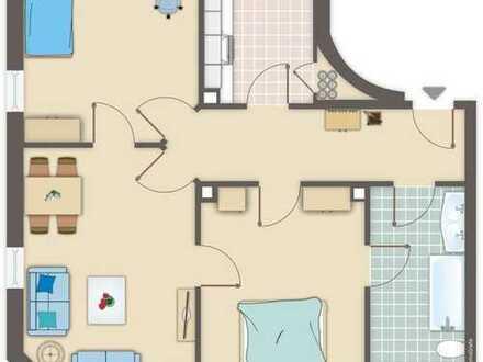 Frisch renovierte 3-WG-Wohnung