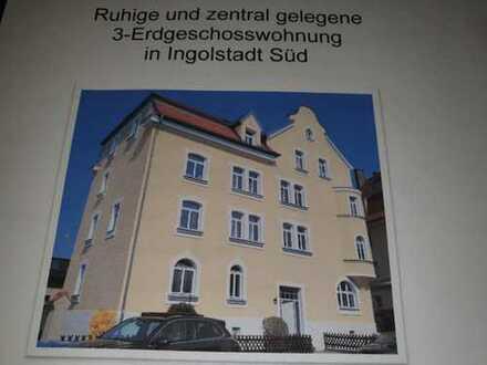 Stilvolle 3-Zimmer-Erdgeschosswohnung mit EBK in Ingolstadt