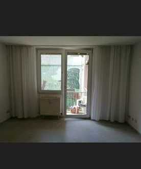Vollständig renovierte 1-Zimmer-Wohnung mit Balkon und Einbauküche in Würzburg, Appartement