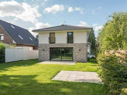 Neubau! Luxuriöses Einfamilienhaus mit großem Südwestgarten in Saseler Bestlage