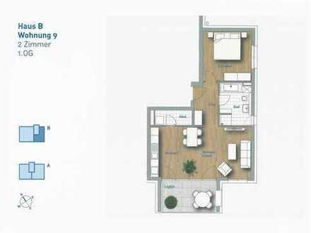 2,5-Zimmer-Wohnung - Wohnung 9 im 1.OG