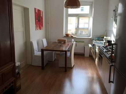 Room in a shared flat in the city centre