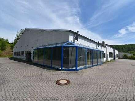 Büro- und Ausstellungsfläche im Gewerbegebiet von Rohr