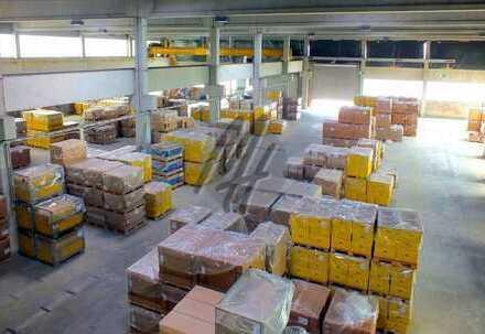 KEINE PROVISION ✓ NÄHE BAB 661 ✓ Lagerflächen (2.400 m²) & optional Büroflächen zu vermieten
