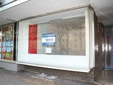 KL-Nähe Messeplatz/City - Ladenlokal in zentraler Lage, an stark befahrener Straße