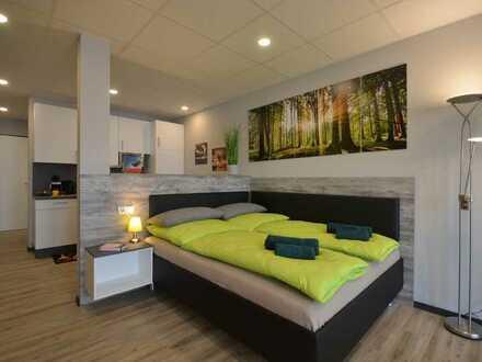 Topp modern möbliert & ausgestattet - großzügiges 1-Zimmer-Apartment zum Wohlfühlen! Sonderpreis!