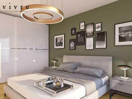 2-Zimmer-Wohnung auf ~84m² mit ausgeklügeltem Raumkonzept + Balkon in besonderer Umgebung