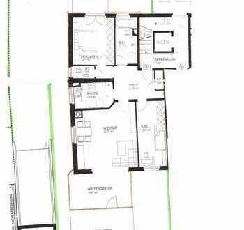 Ruhig gelegen, helle 3-Zimmer-Gartenwohnung am Forstenrieder Park