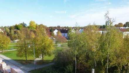 Exklusiver Neubau am Park, 3-Zimmer-Wohnung mit Balkon in Gersthofen