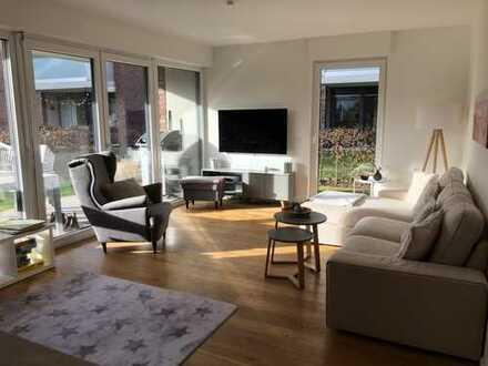 Exklusive, neuwertige 4-Zimmer-Erdgeschosswohnung mit Garten und EBK in Frechen-Königsdorf