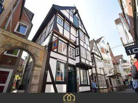 NEUER PREIS: Saniertes denkmalgeschütztes Haus im Bremer Schnoor