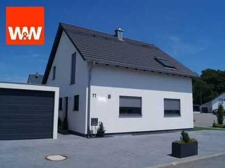 Neuwertige Perle! Freistehendes Einfamilienhaus mit Garten+Garage in familienfreundlicher Umgebung!