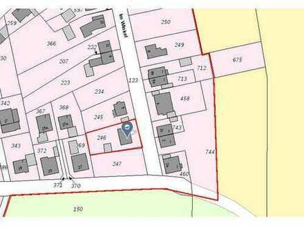Herrlich ländlich gelegenes Grundstück mit 800m² in Haltern-Lippramsdorf