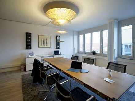 """""""Penthouse-Office"""" mit Dachterrasse am Rathausplatz"""
