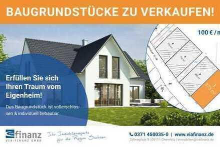 Baugrundstück in Chemnitz Ebersdorf - Parzelle 1 NO