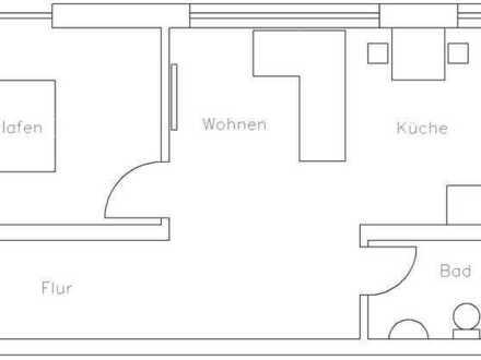 Erstbezug nach Bau mit Einbauküche und Balkon: ansprechende 2-Zimmer-Wohnung in Ronneburg/AW
