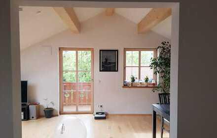 Großzügige 3-Zimmer Wohnung im Dachgeschoss eines Neubaus nach KFW55