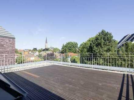 Erstbezug: Luxuriöse Neubaumaisonettewohnung Kreuzviertel mit großer, sonniger Dachterrasse