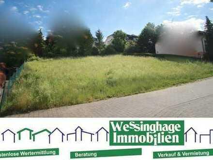 -----Sonniges Baugrundstück, voll erschlossen, in bevorzugter Wohnlage----