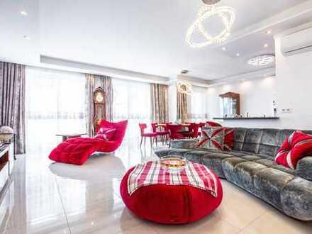 Großzügige Luxus-Wohnung mit exklusiver Ausstattung und eigenem Garten in Walluf
