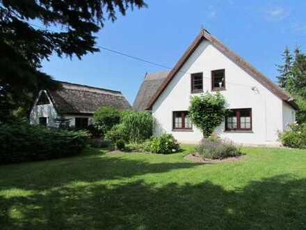 Reetgedecktes Landhaus auf Rügen