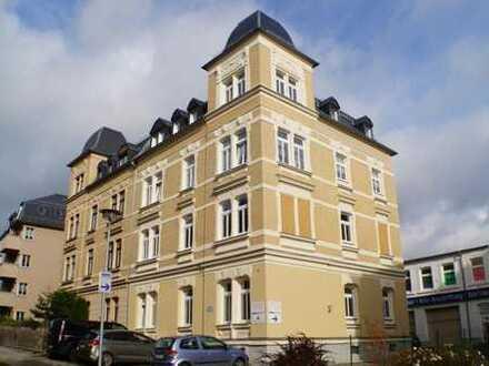 Sehr schöne helle 4-Zimmer-Dachgeschosswohnung mit toller Aussicht in Plauen