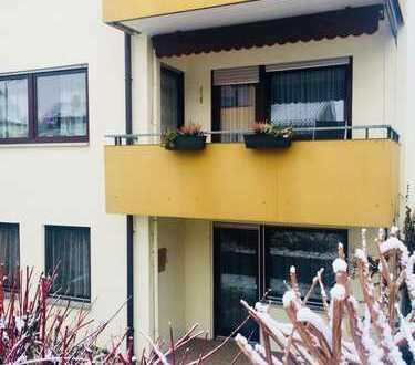 Gartengeschoss-Wohnung mit Südterrasse und Blick ins Grüne - ruhig und stadtnah zugleich