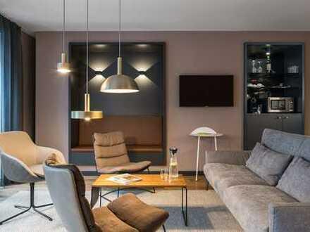 Serviced Apartments für Studenten in Frankfurt Bahnhofsviertel - NK & Service incl. Lounge, Waschrau