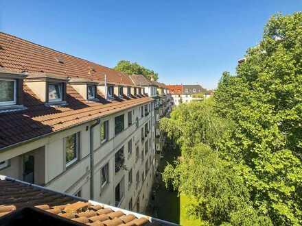 3-Zimmer Dachgeschosswohnung in Zentrumsnähe