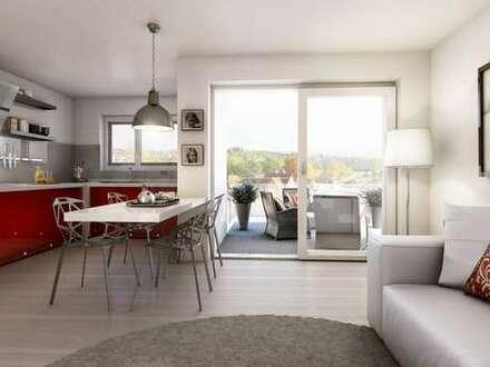 2 Zimmer Wohnung mit Terrasse und Garten