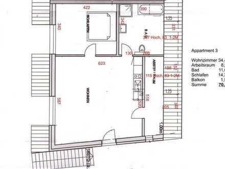 Erstbezug: schöne 3-Zimmer-Wohnung in Landau in der Pfalz