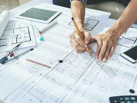 TOP-ANBINDUNG: Anlage bzw Eigennutzung: Büros, Laden, Werkstatt, Lager, Erweiterungspotential