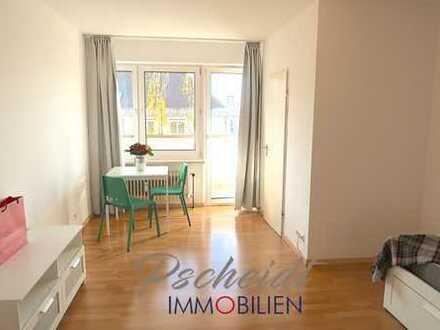 *** Nähe BMW und Olympiagelände: Möblierte 1-Zimmer-Wohnung mit Balkon und Keller***